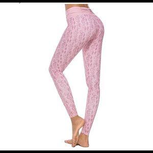 0739  123 Women's High Waist Printed Workout Yoga